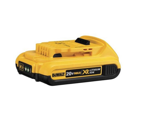 DeWalt 20V MAX* Compact XR® Lithium Ion Battery Pack 2.0 AH