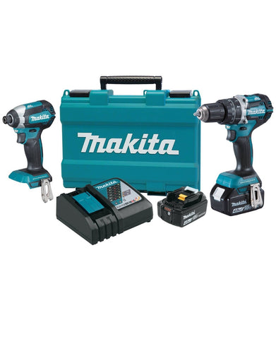Makita 18V LXT® Lithium‑Ion Brushless Cordless 2‑Pc. Combo Kit (4.0Ah)