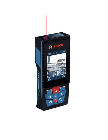 BOSCH GLM400CL Blaze Outdoor Bluetooth Connected, 400 ft Laser Measure with Camera