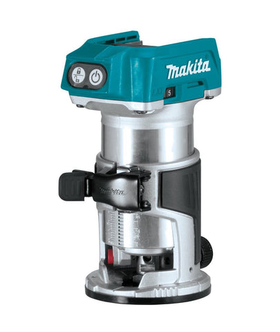 Makita 18V LXT® Lithium‑Ion Brushless Cordless Compact Router (Bare Tool)