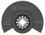 "Bosch 3-1/2"" Starlock® High-Carbon Steel Segmented Saw Blade"