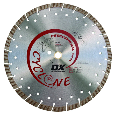 "OX 10"" Supercut Segmented Diamond Blade"
