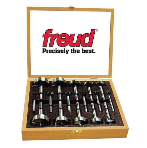 "Freud 1/4"" to 2-1/8"" 16 Pc. Forstner Bit Set"