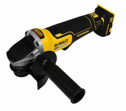 Dewalt 20V MAX* XR® 4.5 IN. PADDLE SWITCH SMALL ANGLE GRINDER WITH KICKBACK BRAKE DCG413B