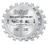 "Freud SBOX8 8"" Box Joint Cutter Set"