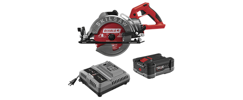 SKILSAW® SPTH77M-21 7-1/4 IN.Cordless Worm Drive Saw Kit