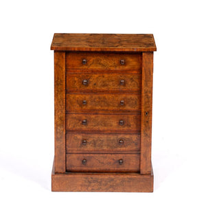 1) Collector's Cabinet modelled as a Wellington Chest / Victorian