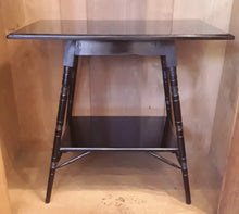 2) Aesthetic Movement Ebonised Side Table / c1870's