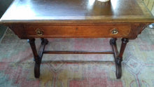 1A) Reformed Gothic Console  - Writing Table / c1865