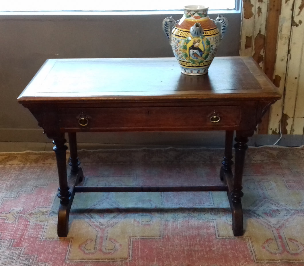 1) Reformed Gothic Console  - Writing Table / c1865 / SOLD