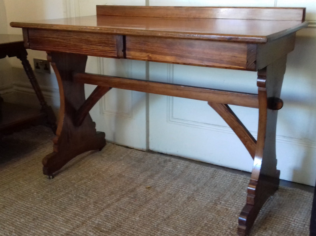 1A) Writing Table - Desk / Reformed Gothic