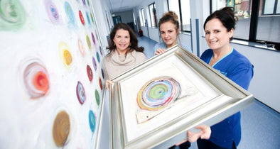 Dawn Crothers Paints a Smile on Belfast Children's Hospital
