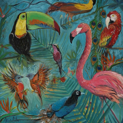 Birds of Paradise by Dawn Crothers Artist blog post