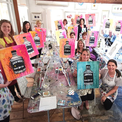 Adult Paint & Sip Classes