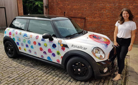 Dawn Crothers Snail Car