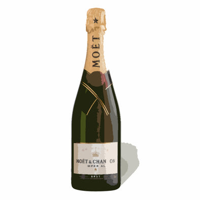 Moët & Chandon Adult Paint & Sip Evening - Thursday 13th August 2020