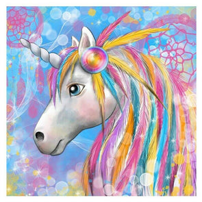 Children's Zoom Art Workshop - Paint a Rainbow Unicorn