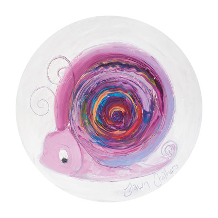 Amethyst the Snail - February Birthstone Ltd Edition Print
