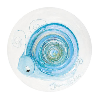 Aquamarine the Snail - March Birthstone Ltd Edition Print