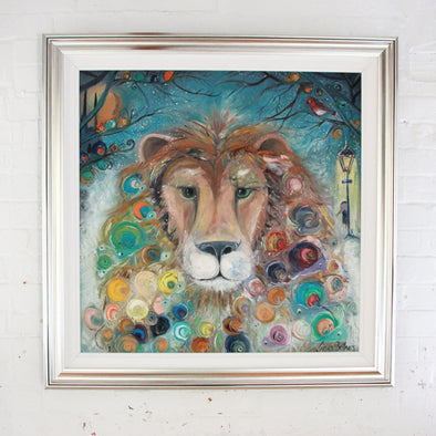 Aslan the Lion, Narnia - Original Painting