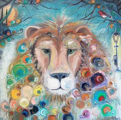 Aslan the Lion, Narnia - Ltd Edition Print