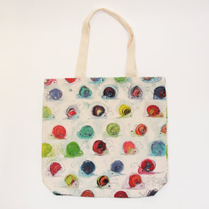 Snail Cotton Tote Shopping Bag - Homeware