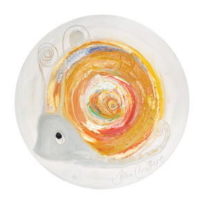 Citrine the Snail - November Birthstone Ltd Edition Print