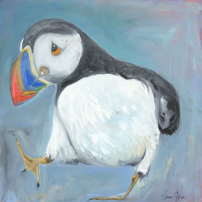 Children's Paint a Puffin Zoom Art Workshop - 13th March 2021