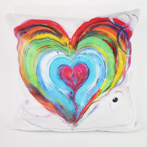 Home is where the heart is - Luxury Vegan Suede Cushion