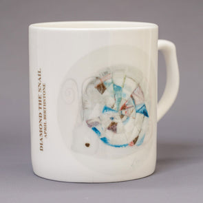 April Birthstone Bone China Mug