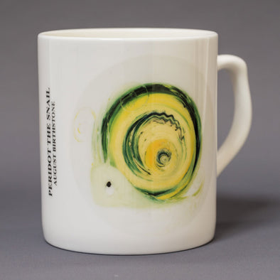August Birthstone Bone China Mug