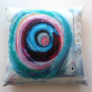 Edwin the Snail Luxury Cushion