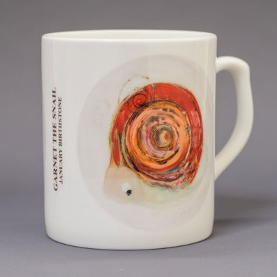 January Birthstone Bone China Mug