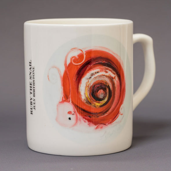 July Birthstone Bone China Mug