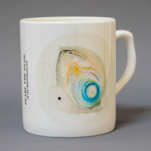 June Birthstone Bone China Mug