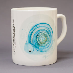 March Birthstone Bone China Mug