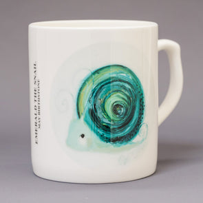 May Birthstone Bone China Mug
