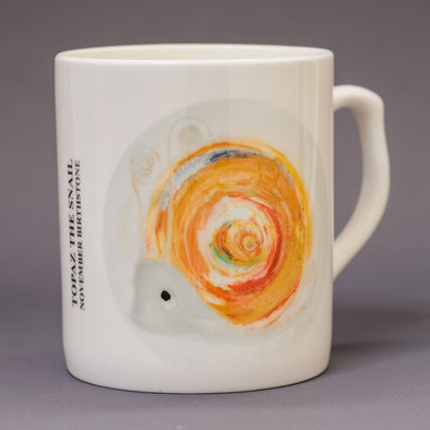 November Birthstone Bone China Mug