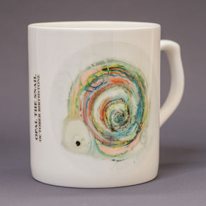 October Birthstone Bone China Mug