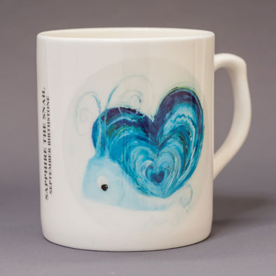 September Birthstone Bone China Mug