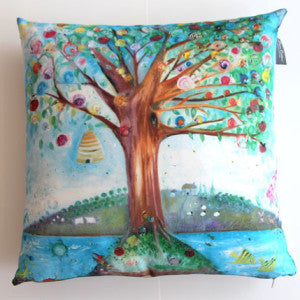 Snail Island Luxury Cushion