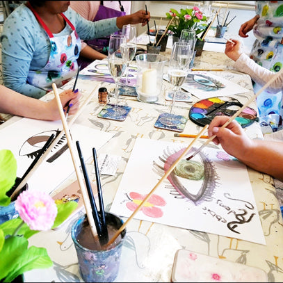 Adult Paint & Sip Evening - Friday 2nd August 2019