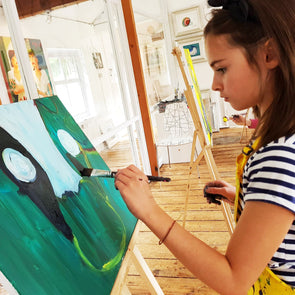 Half Term/Halloween ART SCHOOL - 3 Day Course - 29th..30th..31st.. October 2019