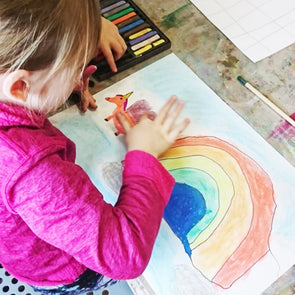 SUMMER ART WORKSHOP Ages 5 to 7 - Friday 26th July - Unicorns & Dinosaurs
