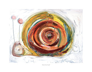 Doris the Snail - Ltd Edition Print
