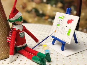 Elf on a Shelf Art Workshop - 5+ Years - Sat 21st December 2019