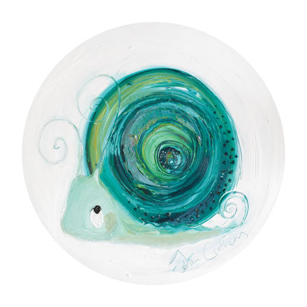 Emerald the Snail - May Birthstone Ltd Edition Print