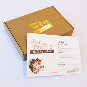 Gift Voucher & Presentation Box