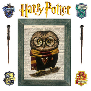Harry Potter Art Themed 1 Day Course - Includes Owl and Creature Visit to the studio!  Ages 7+ Thursday 20th February 2020