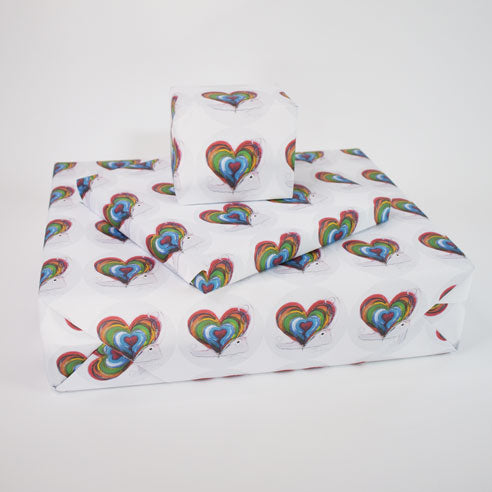 'Home is where the heart is' Wrapping Paper